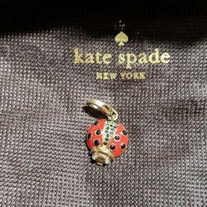 "Kate Spade ""How Charming"" Lady Bug Charm"